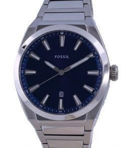 Fossil Everett Blue Dial Stainless Steel Quartz FS5822 Men's Watch