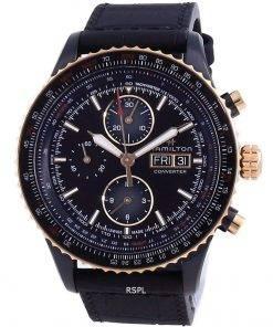 Hamilton Khaki Aviation Converter Automatic Diver's Titanium H76736730 100M Men's Watch