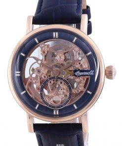Ingersoll The Herald Skeleton Blue Dial Automatic I00407 Men's Watch
