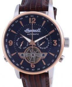 Ingersoll The Grafton Blue Dial Open Heart Automatic I00703B Men's Watch