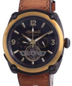 Ingersoll The Michigan Limited Edition Leather Automatic I01104 Men's Watch