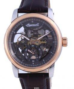 Ingersoll The Baldwin Skeleton Dial Leather Automatic I11001 Men's Watch