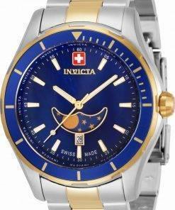 Invicta Pro Diver Moon Phase Quartz 33467 100M Men's Watch