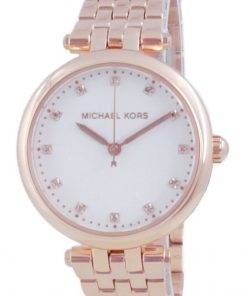 Michael Kors Darci Diamond Accents Rose Gold Quartz MK4568 Womens Watch