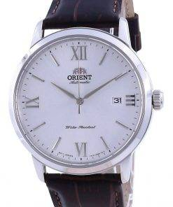 Orient Contemporary White Dial Leather Automatic RA-AC0F12S10B Men's Watch