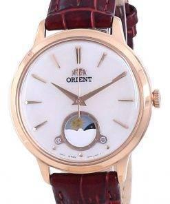 Orient Sun & Moon Leather Quartz RA-KB0002A10B Women's Watch