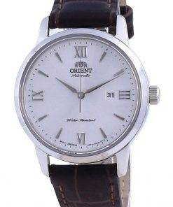 Orient Contemporary White Dial Leather Automatic RA-NR2005S10B Women's Watch