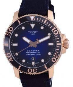 Tissot T-Sport Seaster 1000 Powermatic 80 Diver's Automatic T120.407.37.041.00 T1204073704100 300M Men's Watch
