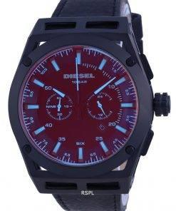 Diesel Timeframe Chronograph Black Dial Quartz DZ4544 100M Mens Watch