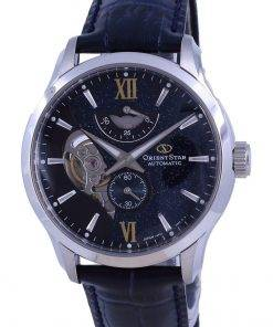 Orient Star Contemporary Limited Edition 70th Anniversary Open Heart Automatic RE-AV0B05E00B 100M Mens Watch