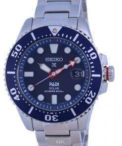 Seiko Prospex Padi Special Edition Blue Dial Solar Divers SNE549 SNE549P1 SNE549P 200M Mens Watch