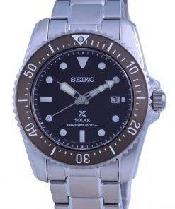 Seiko Prospex Compact Scuba Solar Divers SNE571 SNE571P1 SNE571P 200M Mens Watch