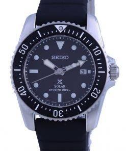 Seiko Prospex Compact Scuba Solar Divers SNE573 SNE573P1 SNE573P 200M Mens Watch