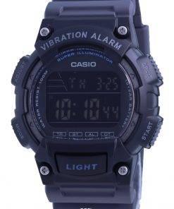 Casio Youth Resin Band Digital W-736H-8B W736H-8 100M Mens Watch