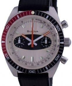Bulova Archive Series Surfboard Chronograph Quartz Divers 98A252 200M Mens Watch