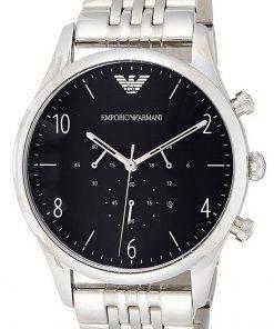 Emporio Armani Beta Chronograph Stainless Steel Quartz AR1863 Mens Watch