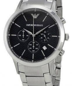 Emporio Armani Renato Chronograph Stainless Steel Quartz AR2486 Mens Watch