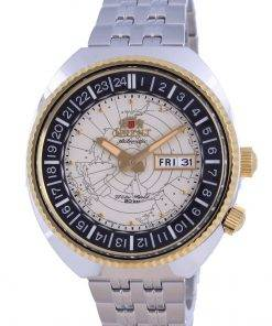 Orient World Map Revival Divers Automatic RA-AA0E01S09C 200M Mens Watch