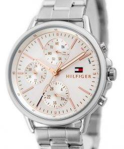 Tommy Hilfiger Carly Silver Dial Stainless Steel Quartz 1781787 Womens Watch