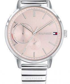 Tommy Hilfiger Brooke Pink Dial Stainless Steel Quartz 1782020 Womens Watch