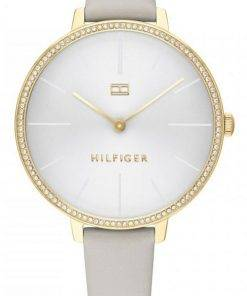Tommy Hilfiger Kelly Crystal Accents Leather Strap Quartz 1782110 Womens Watch