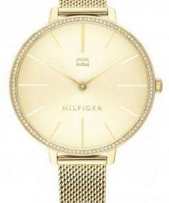 Tommy Hilfiger Kelly Crystal Accents Gold Tone Stainless Steel Quartz 1782114 Womens Watch