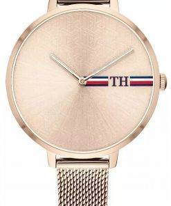 Tommy Hilfiger Alexa Rose Gold Tone Stainless Steel Quartz 1782158 Womens Watch