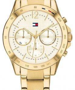Tommy Hilfiger Haven Gold Tone Stainless Steel Quartz 1782195 Womens Watch