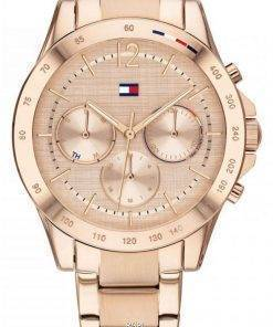 Tommy Hilfiger Haven Rose Gold Tone Stainless Steel Quartz 1782197 Womens Watch