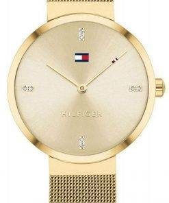 Tommy Hilfiger Liberty Crystal Accents Gold Tone Stainless Steel Quartz 1782217 Womens Watch