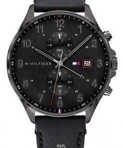 Tommy Hilfiger West Chronograph Leather Strap Quartz 1791711 Mens Watch